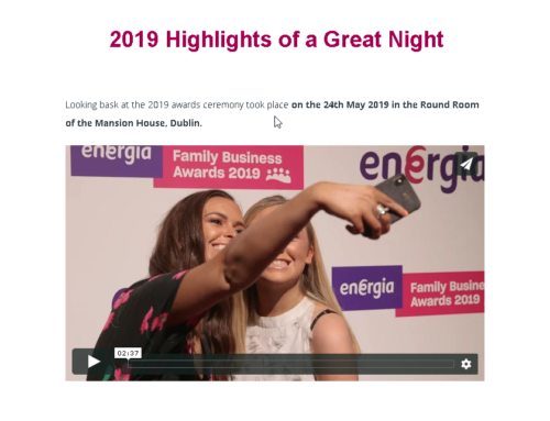 Looking back at 2019 Awards Highlights