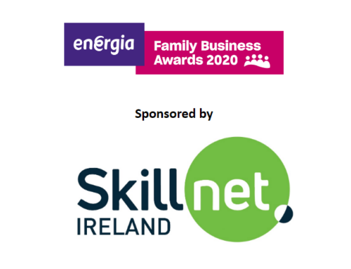Welcoming Skillnet Ireland sponsoring Fastest Growing Family Business