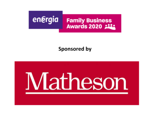 Welcoming Matheson sponsoring the Family Business Longevity Award